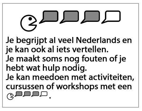 Je begrijpt al veel Nederlands...